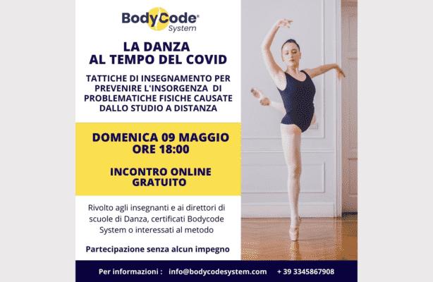 Webinar Gratuito: La danza al tempo del Covid